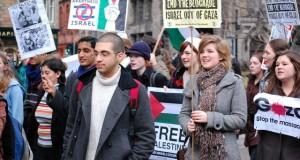 חכמת הקבלה - הפגנה אנטישמית