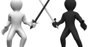 חכמת הקבלה - שנאה ותחרות אנשים חרב