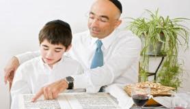 הרב לייטמן - קריאה בתורה איש ילד חינוך ספר
