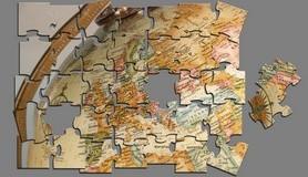 הרב לייטמן - חיבור פאזל אירופה גלובוס