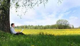 מיכאל לייטמן - איש בשדה קורא ספר