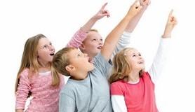 חכמת הקבלה - ילדים מצביעים מעריצים הערצה