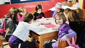 הרב לייטמן - חינוך ילדים כיתה בית ספר קבוצה