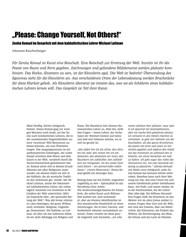 הרב לייטמן - ראיון במגזין גרמני