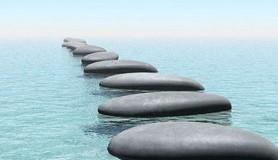 חכמת הקבלה - טבע נוף מים אבנים צעד הליכה