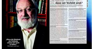 הרב לייטמן - כתבה שבועון גרמניה