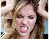 חכמת הקבלה - אישה כעס זעם תוקפנות