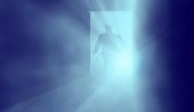 מסדרון,אור,כחול