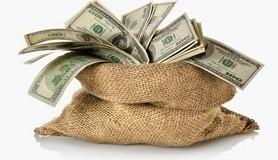 כסף,דולר,כלכלה,שק