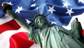 """חכמת הקבלה - ארה""""ב,פסל,דגל,אמריקה"""