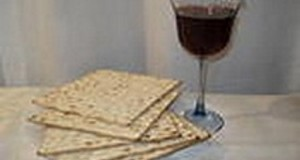 מצה ויין