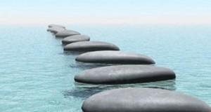 טבע אבנים ים מים