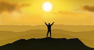 ידיים תפילה שקיעה שמש